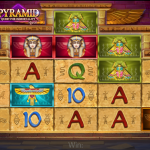 Pyramid: Quest for Immortality videoslot (Netent)