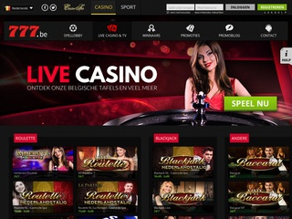 Casino777.be Screenshot
